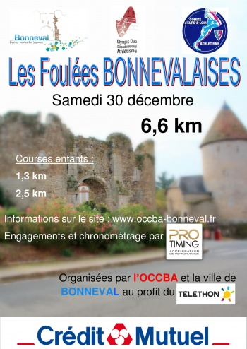 LES FOULEES BONNEVALAISES 3864